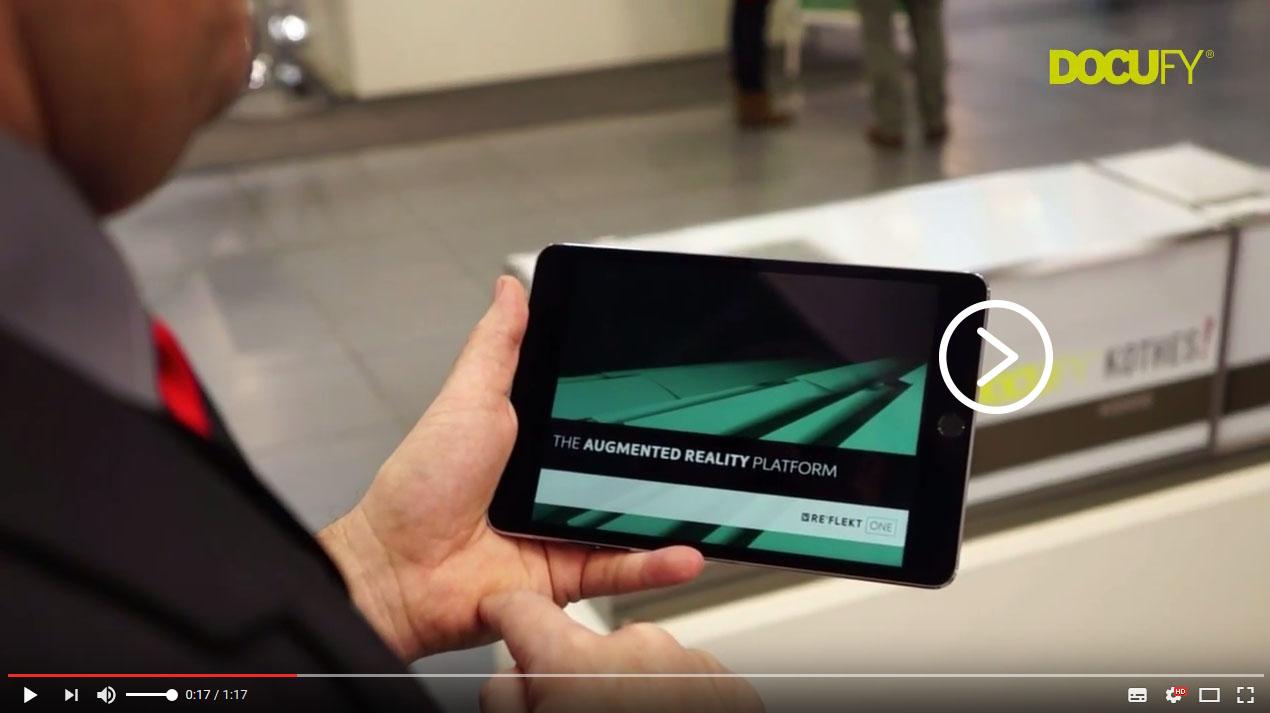 Video Augmented Reality bei der tekom Jahrestagung 2016