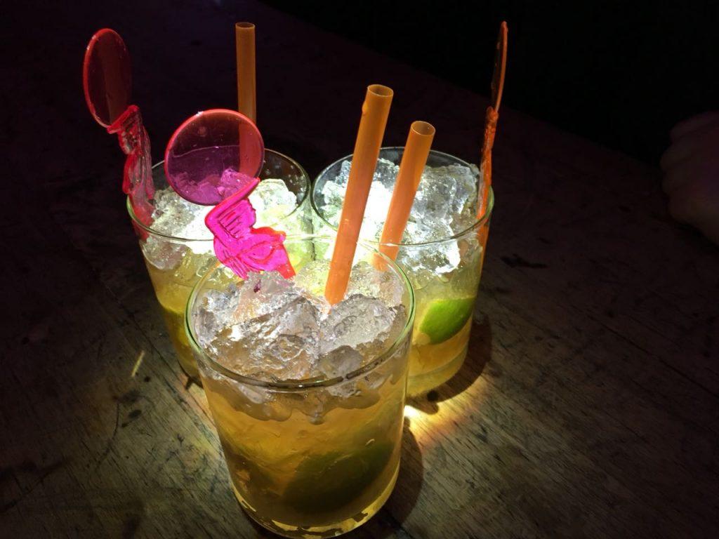 Cocktails am Abend des XML Events