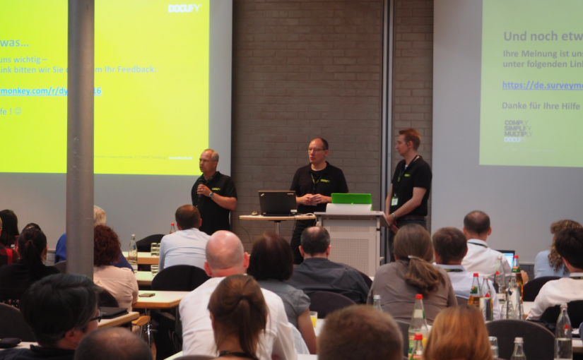 The Seventh DOCUFY User Meeting in Bamberg